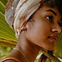 Melting Black Pearl 18K Rose Gold Vermeil Earrings image