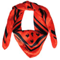 Emma Red Silk Scarf image