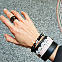 Valentina Bracelet Black image