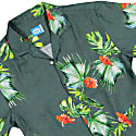 Honolulu Linen Aloha Shirt In Green image