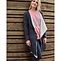 Fog Sweater Rosa Navy Blue- Cream image