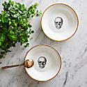 Skull Bone China Bowl image