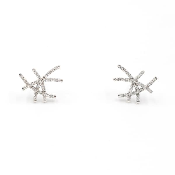 ANNA MACHADO JEWELRY Diamond Lines Earrings