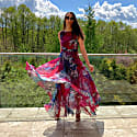 Dress Raspberry Butterfly image
