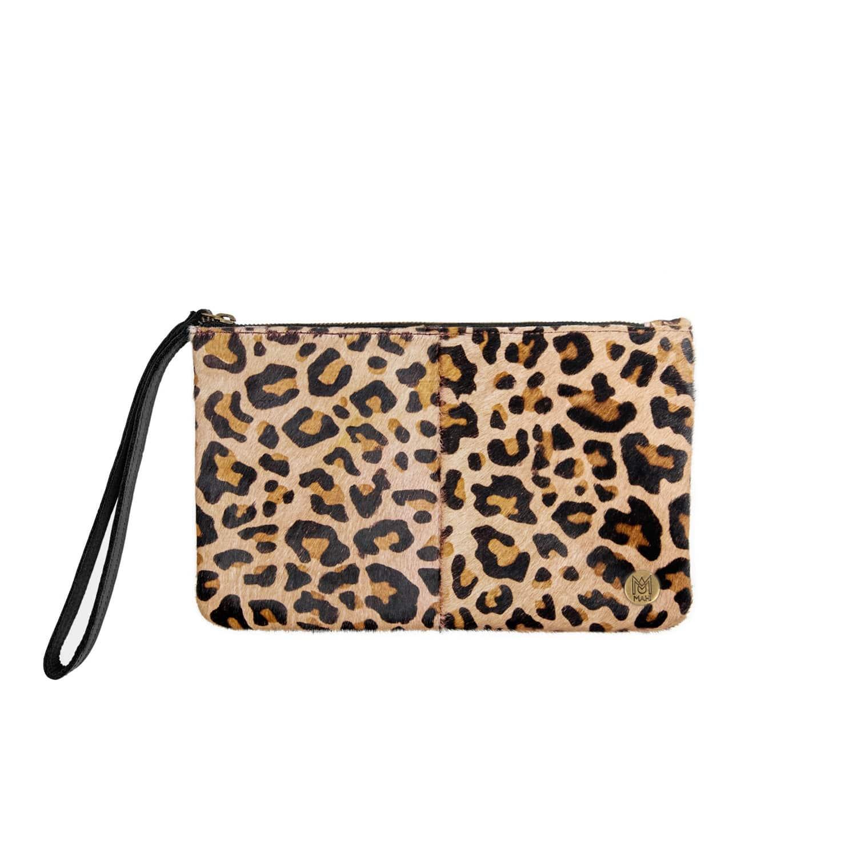 Classic Clutch Bag In Leopard Print Pony Fur image de26a5fe1c435