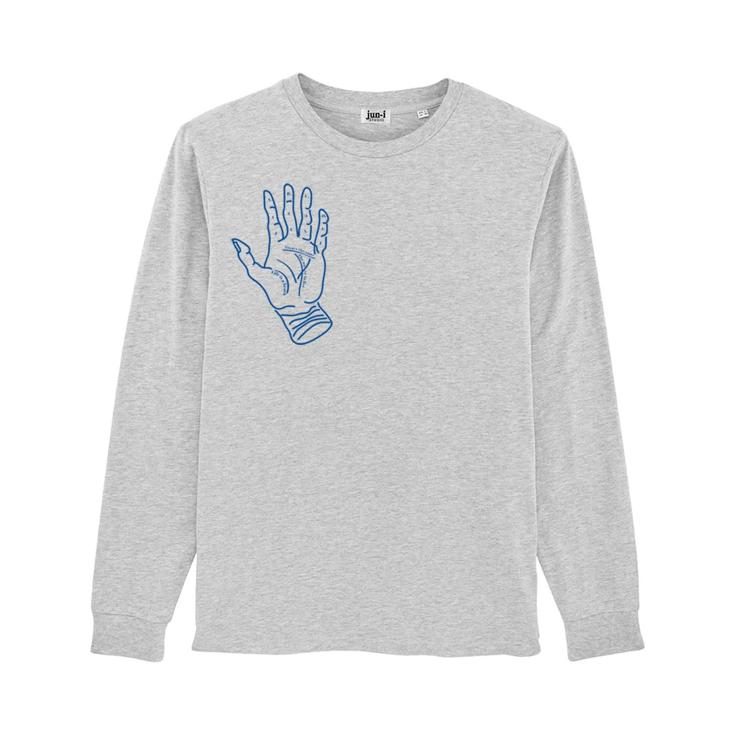 7bb66bb45f56b Palm Reader Long Sleeve T-Shirt image