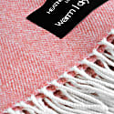 Wonderfully Soft Merino Lambswool Throw Coral image