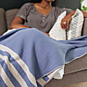 Cumberland Blue Throw Blanket image