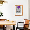 Purple Rain Prince Inspired Retro A3 Art Print image