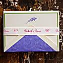 Engraved Lavender Boxed Set image
