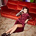 Elusive Dream Gown In Plum image