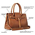 The Windsor Handbag Tan Leather image