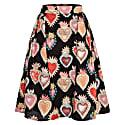 Hanna Skirt Flaming Hearts image