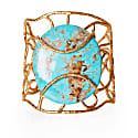 Tribeca Wire Cuff in Turquoise image