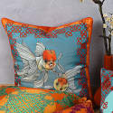 Joy & Luck Silk Cushion  image
