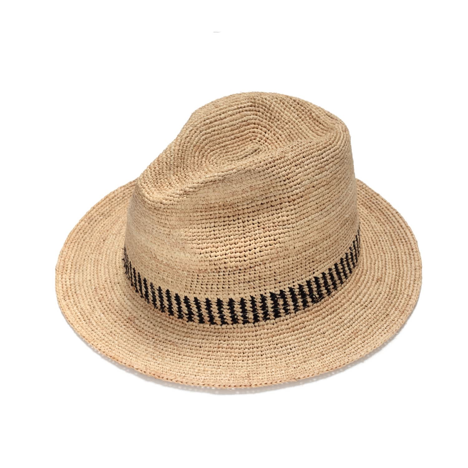 89d9d4a7 Stylish Fedora Straw Hat | Justine Hats | Wolf & Badger