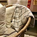 Linen Check Throw Jonas image