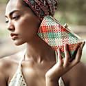 Kotta Florence Handwoven Straw Clutch image