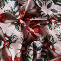 Large Fish Silk Scarf image