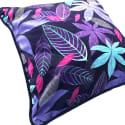 Purple Persian Velvet Cushion image