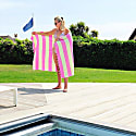Carnival Travel Towel Hot Pink & Lime Green image