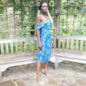 Asha Drape Straps Dress image