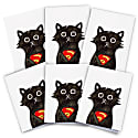 Super Cat Cards Pack Of 6 image