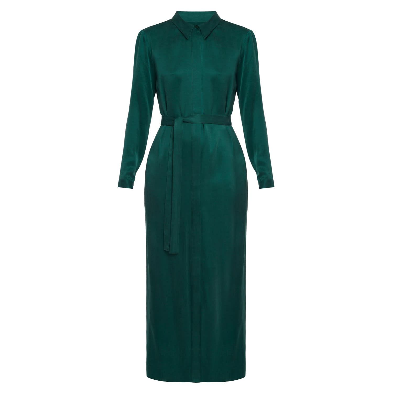 Wonderlijk Cora Sacramento Green Maxi Shirt Dress | UNDRESS | Wolf & Badger VH-03