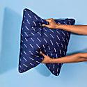 Modern Kantha Stitch 1 - Dark Blue image