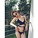 Black Lin Bikini Top image