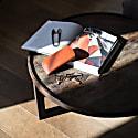Folded Leather Glasses Case image