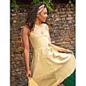 Sustainable Sun Dress In Butter Yellow image
