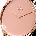 August Berg Reflexion Rose Gold Classic - Rose Gold Mesh 38mm image