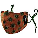 Tree Mandala Pure Silk Crepe Face Mask image