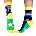 Superstar Blue - A New Sock Experience - Bamboo & Cotton image
