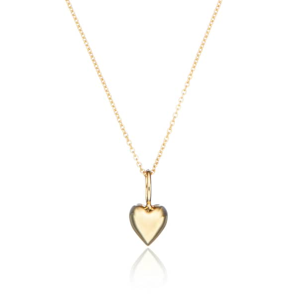 LILY & ROO Gold Heart Charm Necklace
