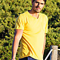 Mojito V-Neck T-Shirt In Yellow image