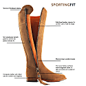 The Regina Sporting Fit Suede Boot - Tan image