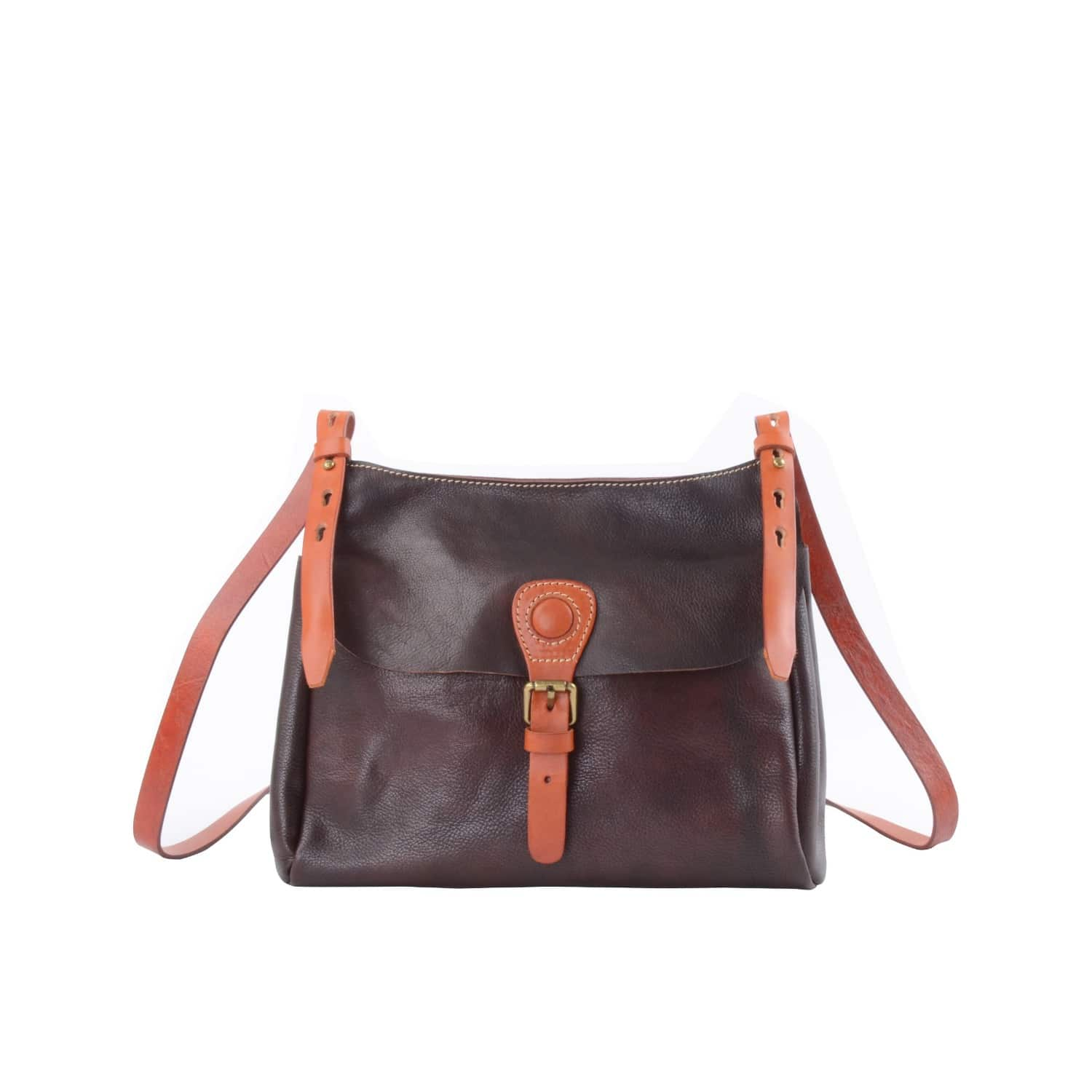 EAZO Soft Leather Tote In Dark Free Shipping Get To Buy 0UiWy