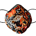 Tiger Silk Satin Face mask image