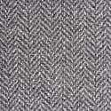 Musta4 Men's Coat - Grey Herringbone Tweed image