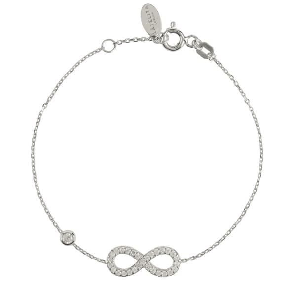 Eternity Bracelet Silver