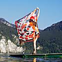 Koi I Oversized Silk Chiffon Scarf image