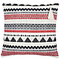 Lulu Coral Stripe Cushion image
