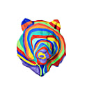 Paper Mache Rainbow Lion Head image