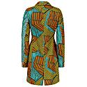 Jacqui African Print Blazer Dress -Asso image