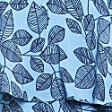 Leaf Print Dress - Blue image