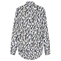 Silk Animal Print Ali Shirt With Backless Detail image