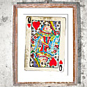 Signed Print The Queen Of Hearts Large image