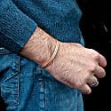 Minimal Copper Bracelet For Men. Great Healer image